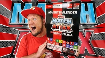 Match Attax ADVENTSKALENDER 2019/20 Unboxing