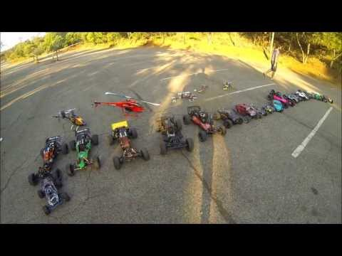BRUTOBH  - 04-05-2013 - Encontro Automodelismo -baja HPI-Helicoptero-mugen-losi-GoPro 3 Black