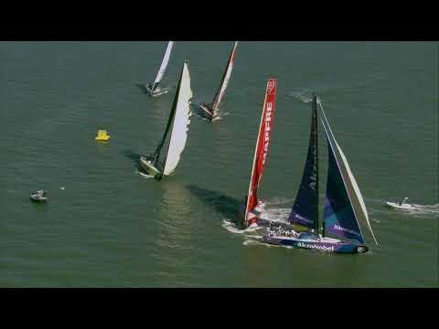 Volvo Ocean Race 2017-18: VNR 20 April, Mapfre wins in Itajaí to extend In-Port Series lead