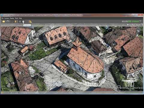 Photogrammetry Acute3d+MicroStation+Phantom 3 (part1)