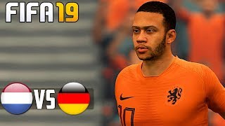 Netherlands vs Germany - FIFA 19 Gameplay PC