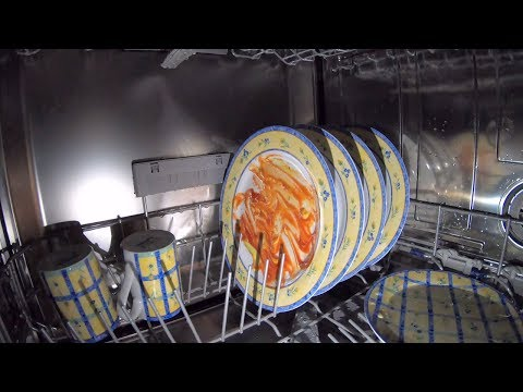 4K Inside A Dishwasher - Gopro Hero 7 Black
