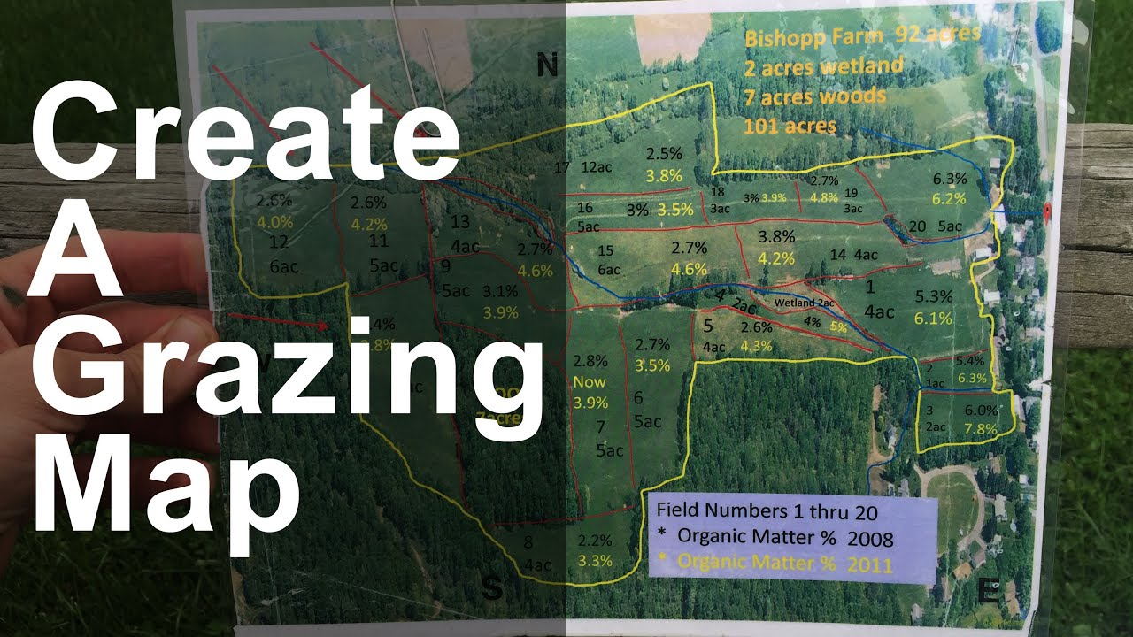 Creating A Pasture Map YouTube