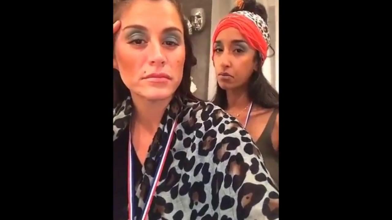 Anais fait le show avec son amie Noella sur snap 😂