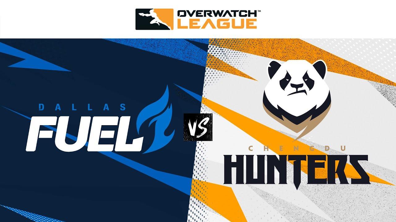 Winners Semi-Final   Dallas Fuel vs Chengdu Hunters   May Melee Tournament   Day 1
