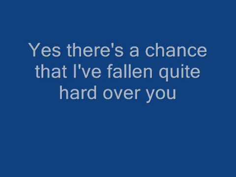 Landon Pigg- Falling In Love In A Coffee Shop Lyrics