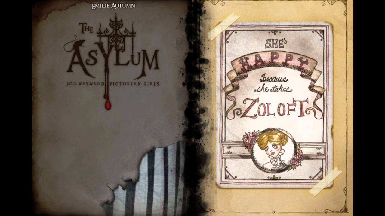 Emilie Autumn The Asylum For Wayward Victorian Girls: Random Reading; Emilie Autumn's The Asylum For Wayward