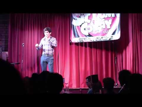 Jorge Performing at the Sit Down Comedy Club