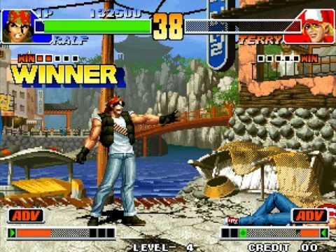 [kof98] King of Fighters '98 - Ralf Jones (How much I suck) Pt 1
