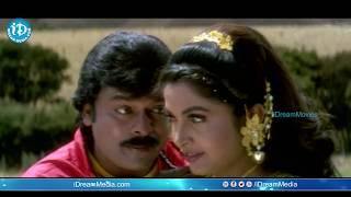 Iddaru Mitrulu Songs - Manasa Vacha Video Song | Chiranjeevi, Ramya Krishnan || Mani Sharma