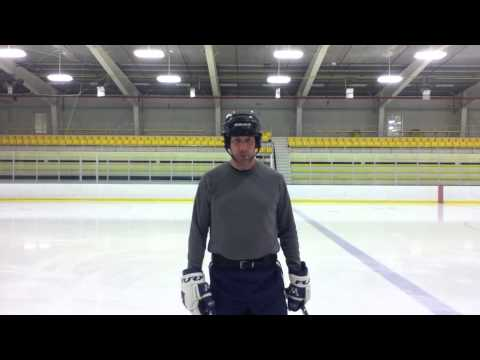 Hockey Drills and Conditioning With The Wellness Belt