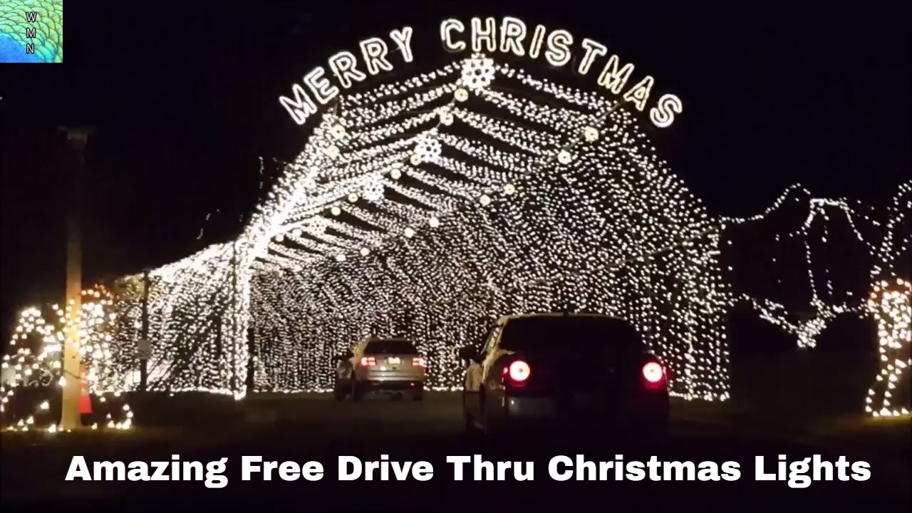 Amazing Christmas Light Display Completely Free Is St. Louis Area At Our  Lady Of The Snows