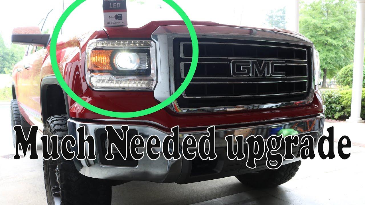2014 Gmc Sierra Led Upgrade Youtube
