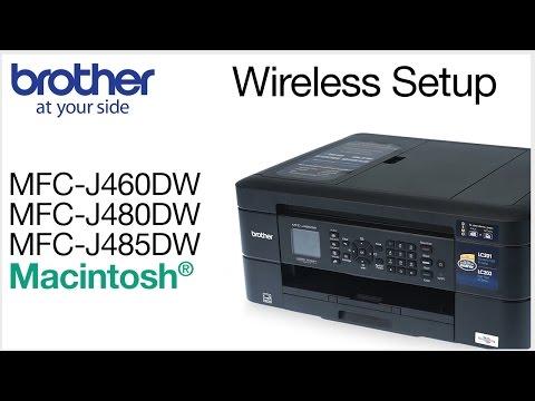 Wireless setup - Using the control panel
