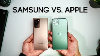 iPhone 11 Pro Max vs. Galaxy Note 20 Ultra - Which Phone is Better??