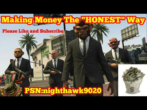 "Making money the ""HONEST"" way"