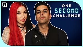 New Years Day's Ash Costello vs Nikki Misery - One Second Challenge