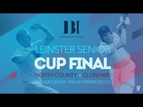 LIVE CRICKET - North County v Clontarf Leinster Senior Cup Final