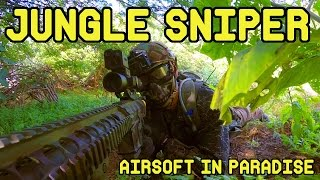 Airsoft in Paradise | Jungle Sniper (G&G GR-25 Airsoft DMR)