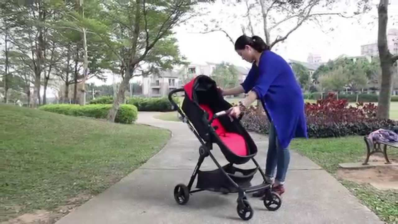 Baby Trend City Clicker 雙向嬰幼兒手推車 St88153 Youtube