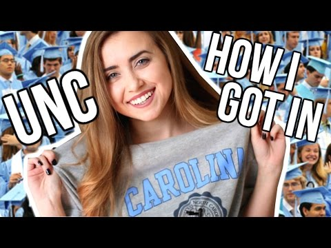 HOW I GOT INTO UNC | The Truth About Going Here