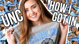 HOW I GOT INTO UNC | The Truth About Going Here thumbnail