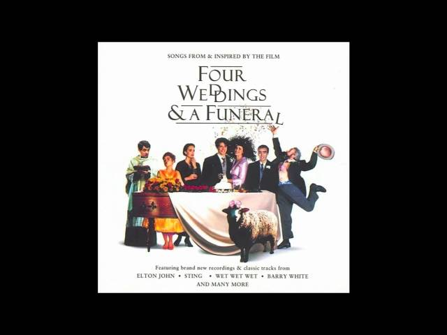 Can't Smile Without You - Four Weddings And A Funeral Soundtrack (1994) HD