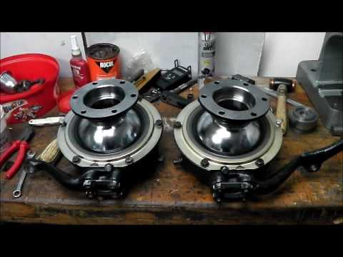 Land Rover Series Front Axle Overhaul Part 3 Youtube