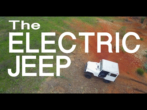 The Electric Mail JEEP WAKES UP