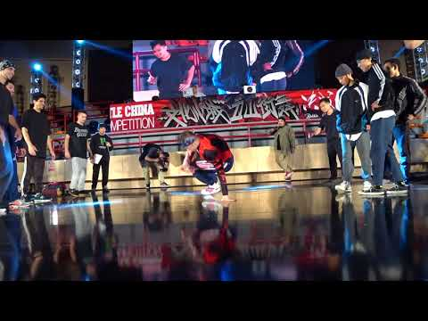 決戰中國BATTLE CHINA FINAL 2017 | BBOY 5 ON 5 | TOP 4 | TEAM HK VS UNEXPECTED