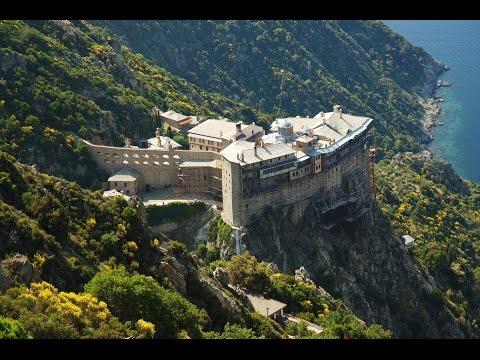 Монастыри Святой Горы Афон Русское Афонское Общество