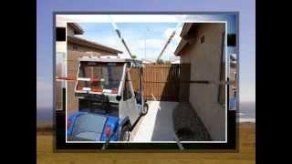 Building A Back Yard Gate For Golf Car