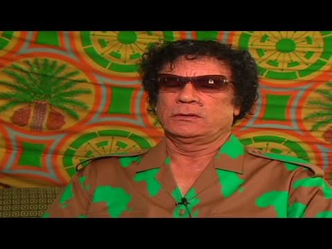 CNN: 2005 interview,  Gadhafi on ending nuclear program