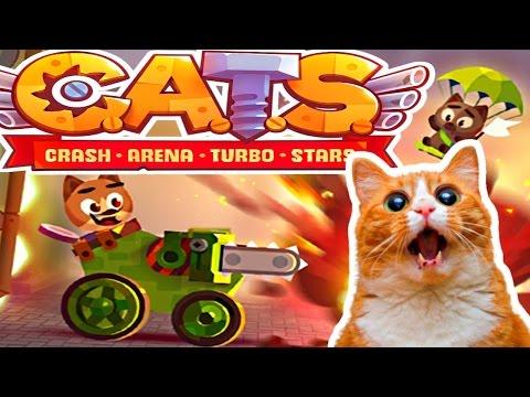 I LOVE C.A.T.S. - Crash Arena Turbo Stars!