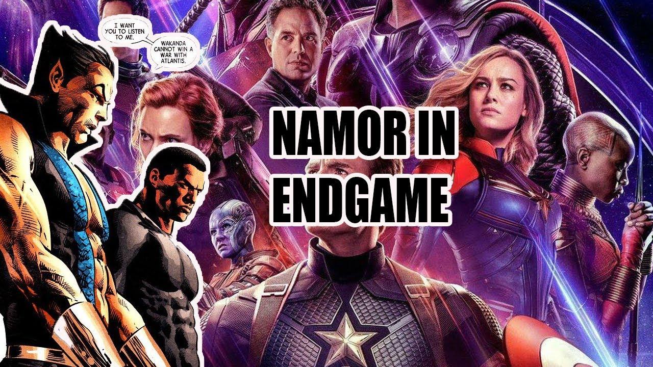 avengers endgame namor the sub mariner easter egg - youtube