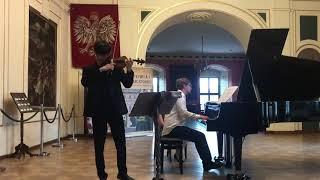"""Tchaikovsky """"Melodie"""" Souvenir D'un Lieu Cher  차이코프스키 소중한 곳에 대한 추억 옥선재 바이올린 연주"""