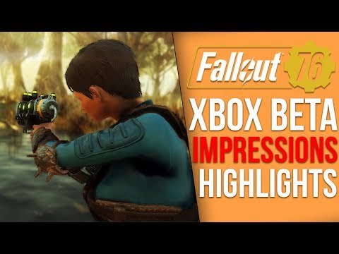 Fallout 76 Xbox BETA - My Final Impressions and Gameplay Highlights