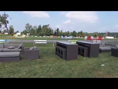 Ceaser Sectional and Luxor Bar Set
