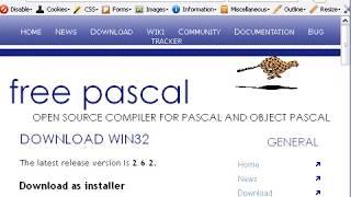 0100 Free Pascal как установить
