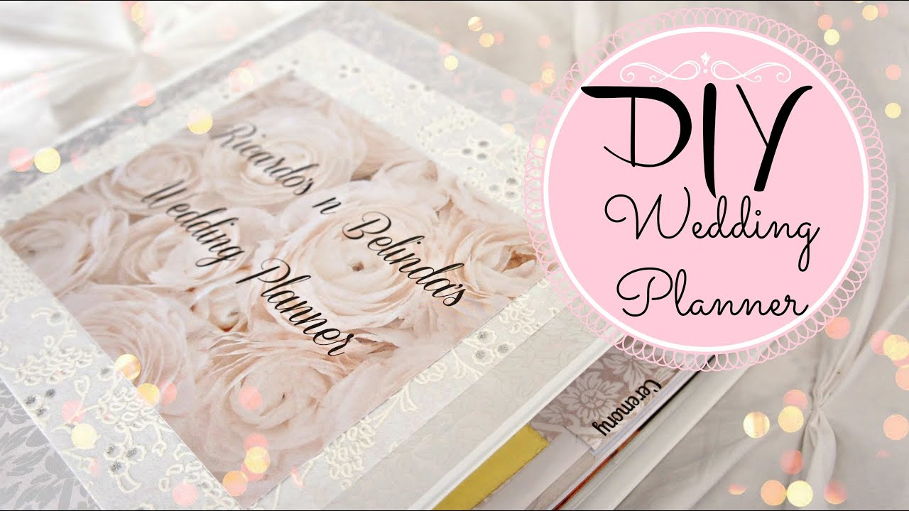 DIY Wedding Planner | Belinda Selene Ep. 7 - YouTube
