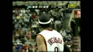 Allen Iverson Career High 60pts vs orlando magic February 12th 2005
