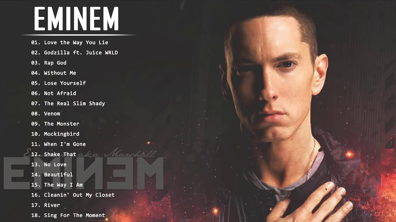 E M I N E M Greatest Hits Full Album   Best Songs Of E M I N E M 2021