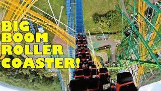 Big Boom Roller Coaster Front Seat POV 60FPS Nasu Highland Japan