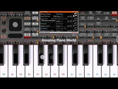 Kya Baat Ay   Instrumental Mobile Piano   ORG2018   Amazing Piano World