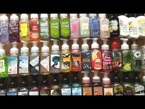 Bath & Body Works HUGE Foaming Hand Soap Collection