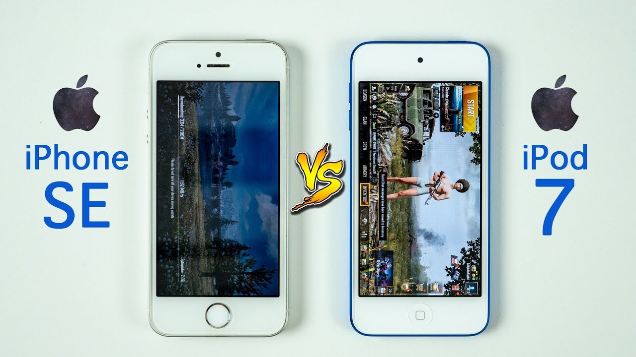 Ipod Touch 7 Vs Iphone Se Speed Test You May Be Surprised Youtube