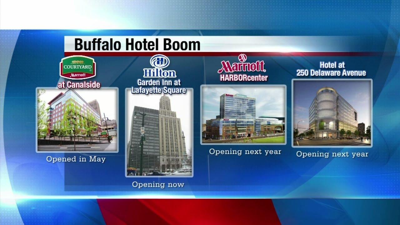 hilton garden inn opens in downtown buffalo - Hilton Garden Inn Buffalo Downtown