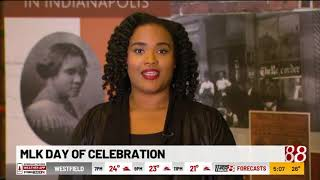 MLK Day commemorated around Indianapolis