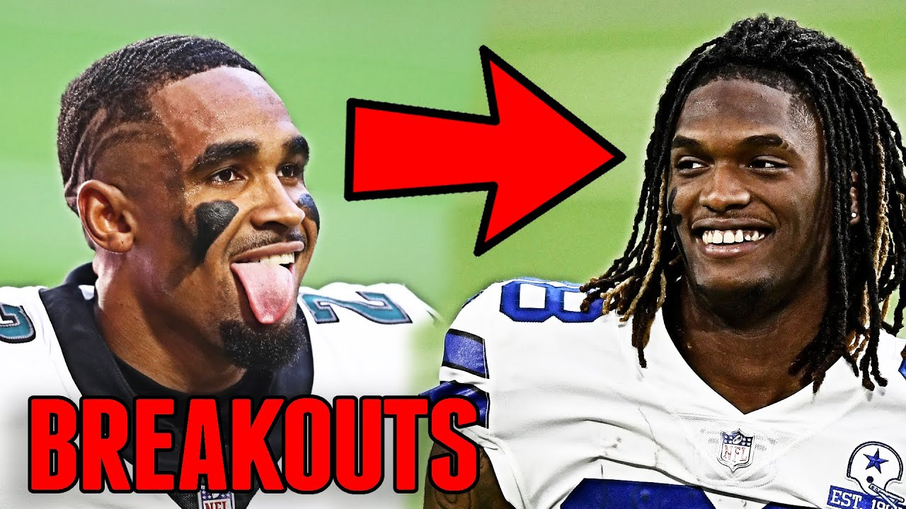 EVERY NFL TEAM'S BIGGEST BREAKOUT PLAYER FOR THE 2021 SEASON