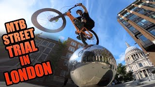 MTB STREET TRIAL IN LONDON